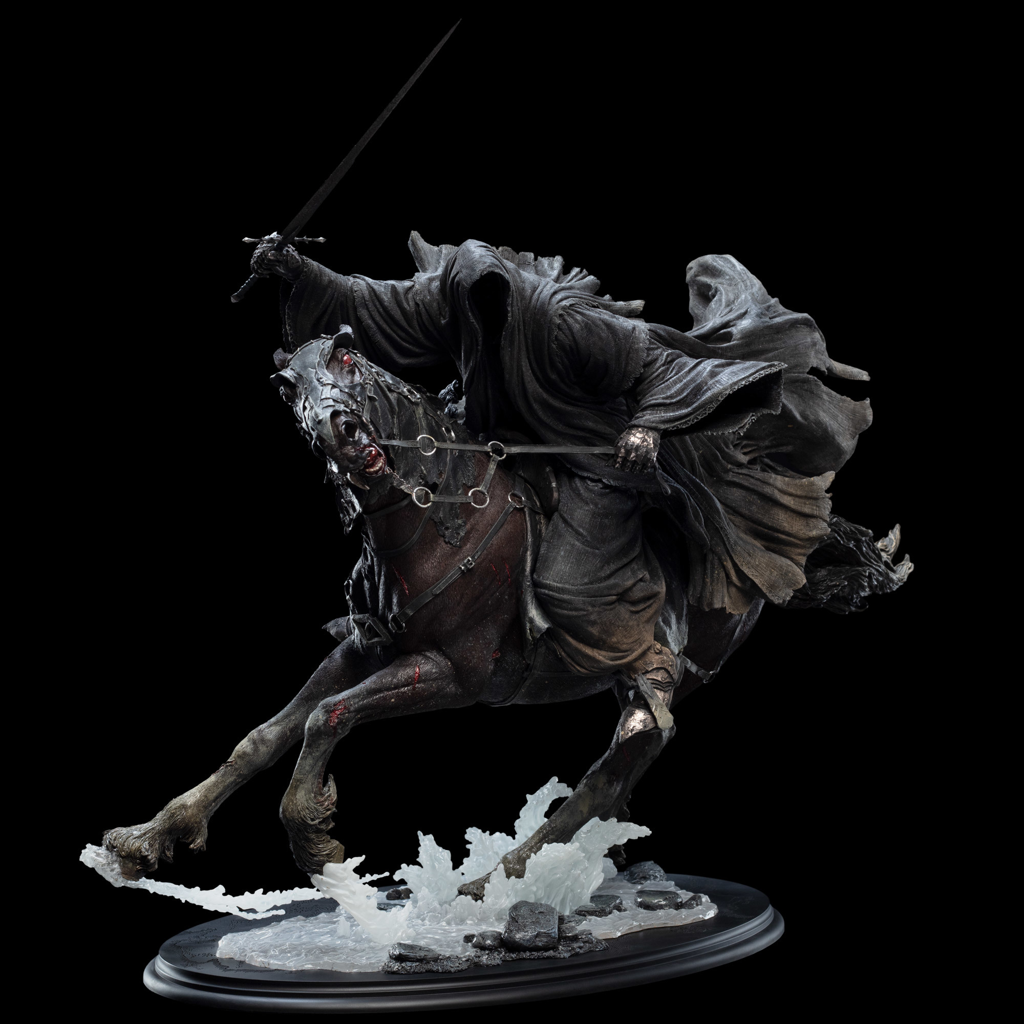 Ringwraith at the Ford 1/6 Scale Statue by Weta Collectibles