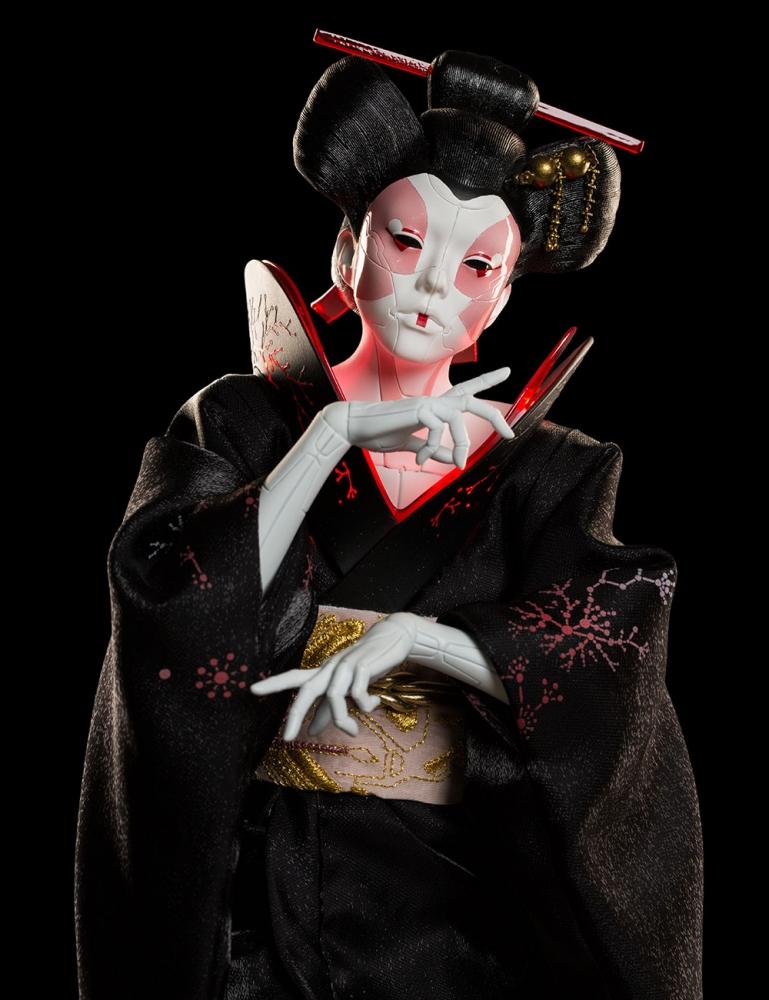 Weta Workshop Geisha Ghost In The Shell 1 4 Scale Figure