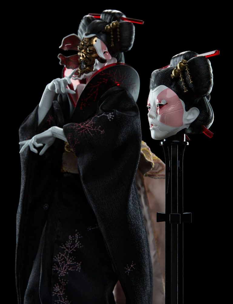 Weta Workshop Geisha Ghost In The Shell 1 4 Scale Figure