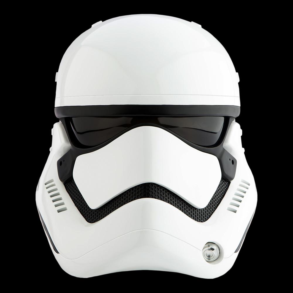 3fc232e5441 FIRST ORDER STORMTROOPER HELMET. Star Wars  ...