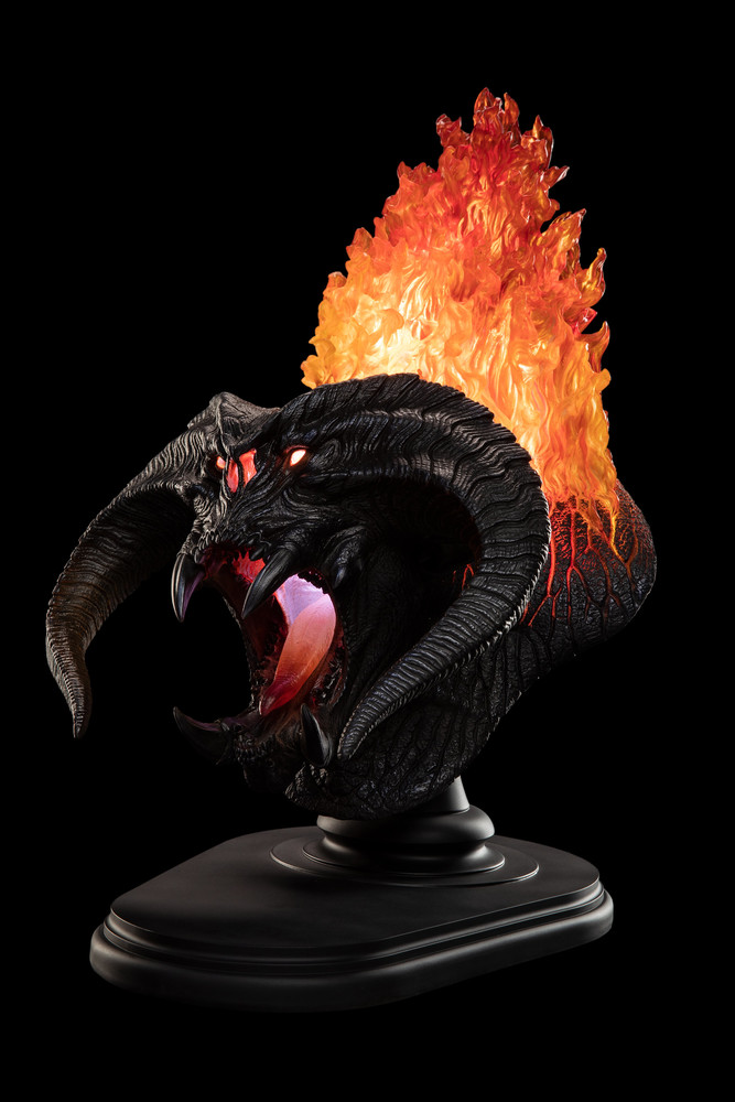 Weta Workshop The Balrog Flame Of Udun Bust Weta Workshop