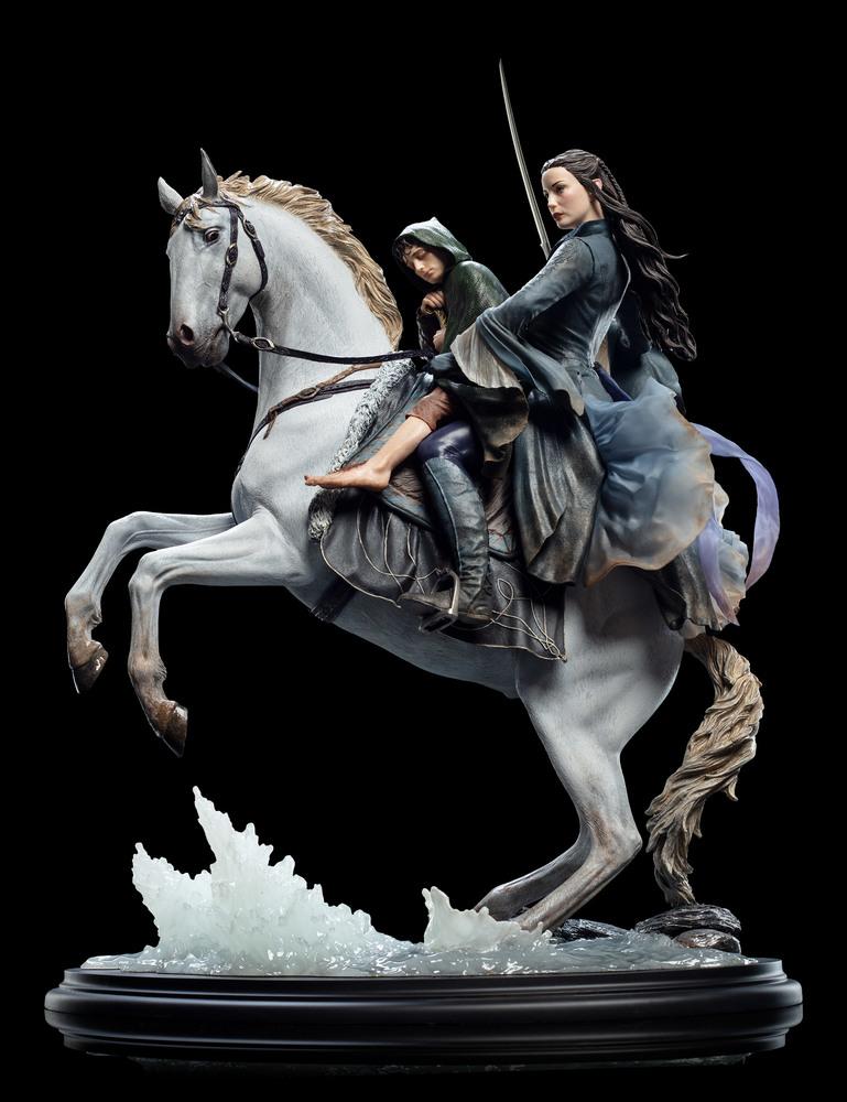 Arwen and Asfaloth