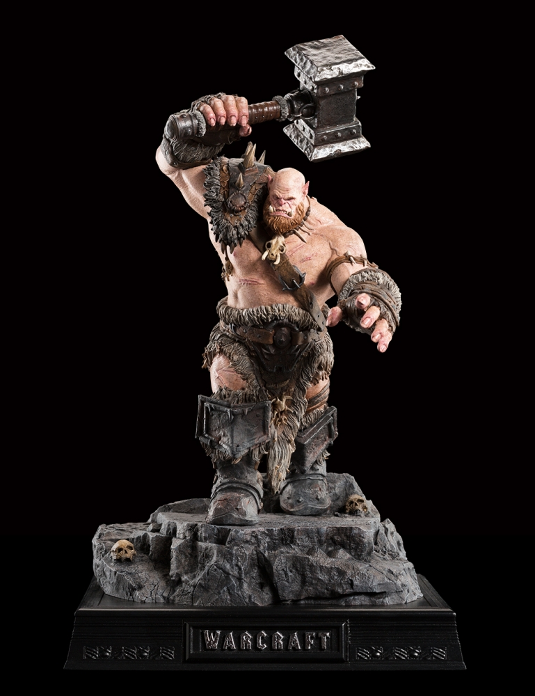 WARCRAFT ORGRIM 1:10 scale figure 64-01-01959_Warcraft_Orgrim_Figure_002