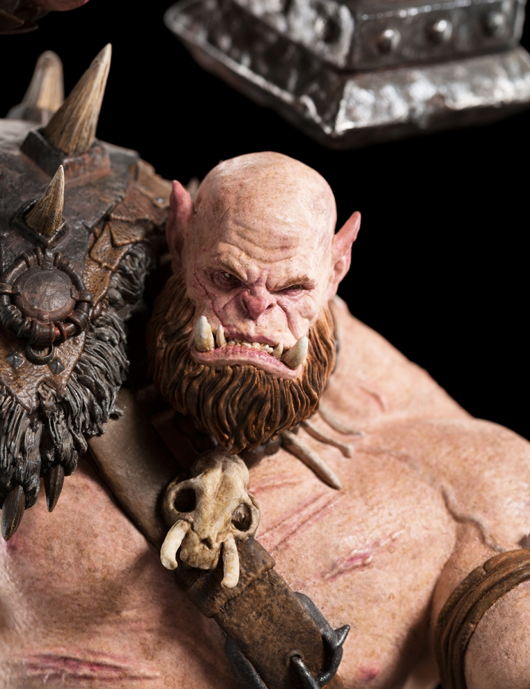 WARCRAFT ORGRIM 1:10 scale figure 64-01-01959_Warcraft_Orgrim_Figure_007