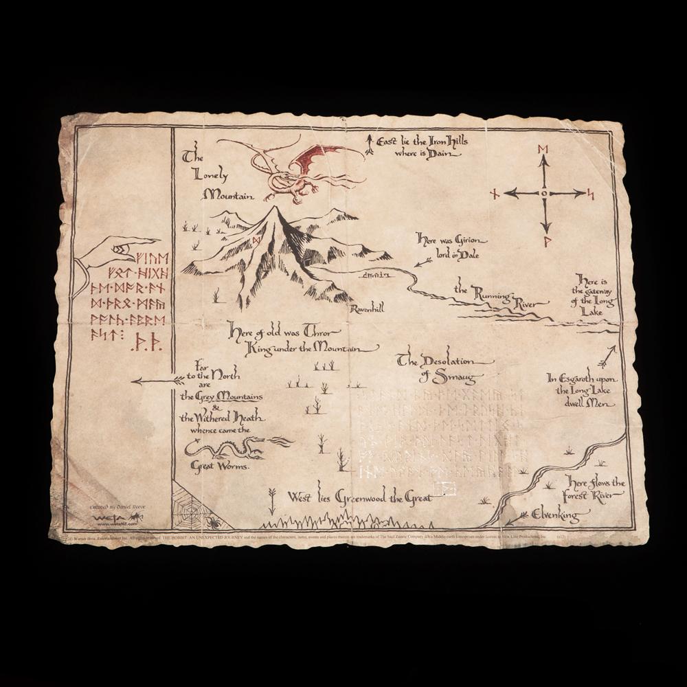 Weta Workshop - Us parchment map