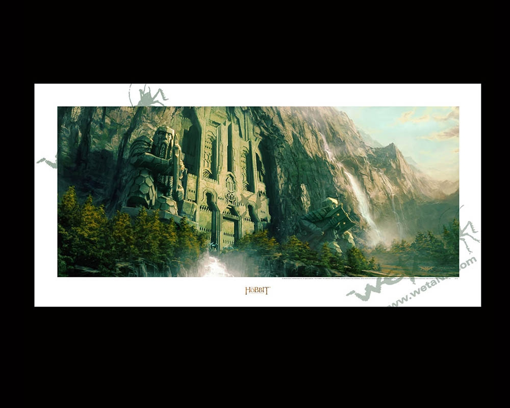 Weta workshop the front gate to erebor gumiabroncs Images
