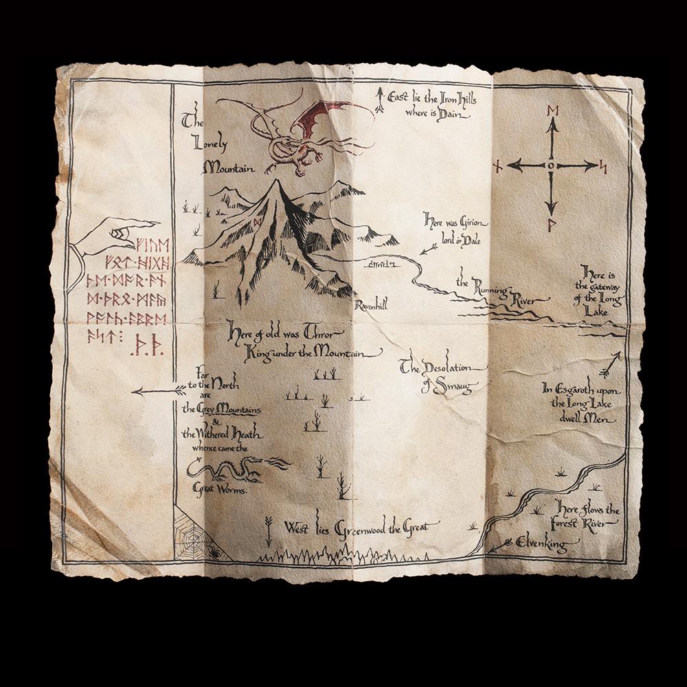 thorins map prop replica