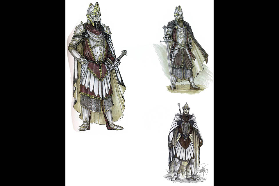 Lord Of The Rings Armour Names